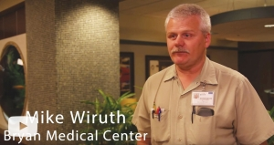 Mike Wiruth, Master Electrician — Bryan Health