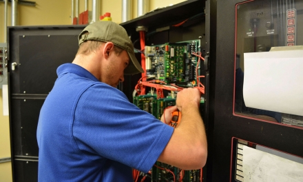 Electronic Contracting Company Service Department