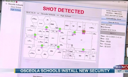 Osceola Public Schools Shooter Detection System