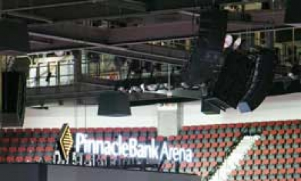 Integrated Electro-Voice Solution For Lincoln's Pinnacle Bank Arena by Electronic Contracting Company