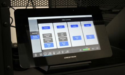 Audio/Visual Touch Panel | Electronic Contracting Company