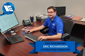Eric Richardson Joins Electronic Contracting Company as an A/V Solutions Consultant